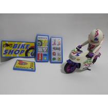 Playmobil Vintage Motocicleta De Carreras Set 3992 De Geobra