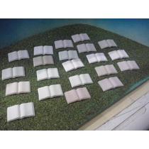 Playmobil Libros Rosas Y Blancos Abiertos Ciudad Victorianos
