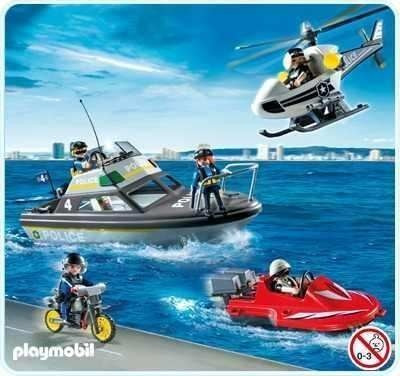 Tu helicoptero policia de ciudad lego 7741 de 5 12 a os for Helicoptero playmobil
