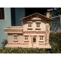 Casa De Madera Muñeca Para Pintarla Y Decorarla,entregas Df