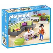 Playmobil 5584 Sala Moderna Casa Mansion Lujo Retromex