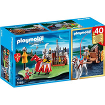Playmobil 5168 Set Aniversario Torneo Medieval Playmotiendit