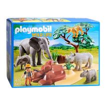 Playmobil 5417 Sabana Africana !!! Gzt