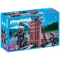 Playmobil 4869 Carro Torre De Asalto (caja Maltratada)