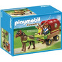 Playmobil 5228 Carreta Con Poni