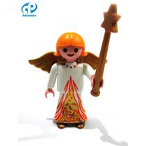 Playmobil Navidad Personaje Angel Nacimiento 4884 Retromex