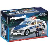 Playmobil 5184 Coche De Policia Con Luces!!