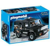 Playmobil, Carro De Equipo Tactico 5974