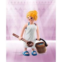 Playmobil 6841 Figura Chica Con Toalla #6 Serie 10 Retromex