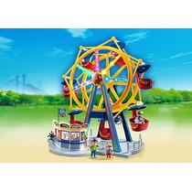 Playmobil 5552 Noria Con Luces Ciudad Feria Retromex