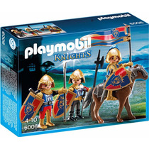 Playmobil 6006 Tropa Caballeros Leon Medieval Retromex