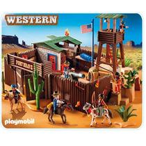Playmobil 5245 Oeste Fuerte Del Oeste Envìo Gratis!!