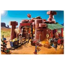 Playmobil 5246 Oeste Mina Del Oeste (caja Maltratada)
