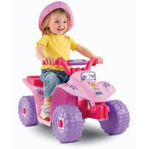 Cuatrimoto Moto De Barbie Electrica 6voltios Vbf