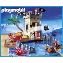 Playmobil 5266. Piratas Con Torre Vigía. Playmotiendita