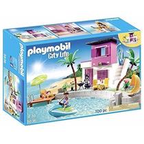 Playmobil 5636 Casa En La Playa Ciudad Vacaciones Retromex