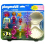 Playmobil, Blister Grande De Sirenas 5884, Descontinuado