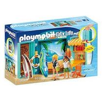 Playmobil 5641 Tienda Tablas De Surf Surfista Playa Maletin