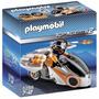 Playmobil 5288 Moto Espia Agentes Ciudad Retromex!!