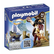 Playmobil 4798 Pirata Barba Larga Super 4 Medieval Retromex