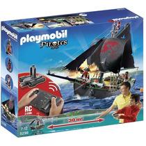 Playmobil 5238 Barco Pirata Con Control Remoto!! Gzt