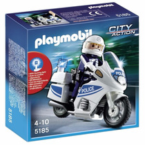 Playmobil 5185 City Action Moto Patrulla Fantastico