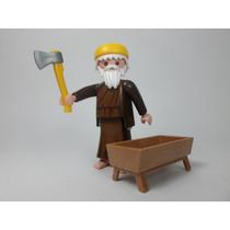 Playmobil Figura Jose Aldeano Navidad Nacimiento Retromex