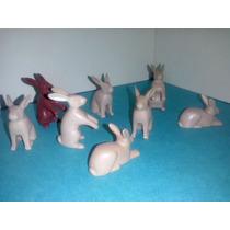 Playmobil Liebres Varios Colores Conejos Grandes Animales Js