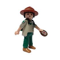 Playmobil 5598 Explorador #2 Serie 9 Ciudad Pueblo Retromex