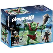 Playmobil 6004 Trol Gigante Con Luchadores