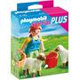Playmobil 4765 Especial Plus Recolectora Con Ovejas !!! Sp0