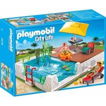 Playmobil 5575 Piscina Terraza Ciudad Casa Moderna Retromex
