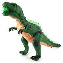 Prehistoria Unido Loco T-rex Con Pilas Del Juguete Dinosauri