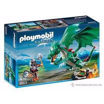 Playmobil 6003 Gran Dragon Medieval Caballeros Retromex