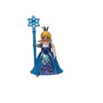 Playmobil 5599 Reina Azul #1 Serie 9 Princesas Hada Retromex