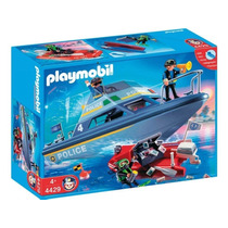 Playmobil 4429 Patrulla De Policia