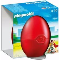 Playmobil 4939 Huevo Niños Con Juegos Ciudad Parque Retromex