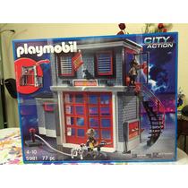 Playmobil 5981 Estación De Bomberos Play-go Toys
