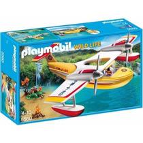 Playmobil 5560 Hidroavion Aventura Vida Salvaje Retromex