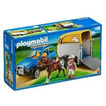 Playmobil 5223 Vehiculo Remolque Ponis Metepec Toluca