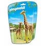 Playmobil 6640 Jirafa Con Cria Zoologico Animal Retromex