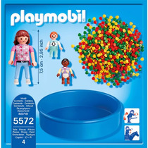 Playmobil 5572 Piscina De Bolas Ciudad Guarderia Retromex