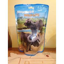 6944 Playmobil Wildlife Bufalo De Cabo Novedad Alemania 2016