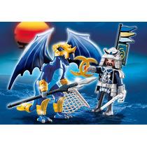 Playmobil 5464 Dragon De Hielo Con Samurai Envio Gratis