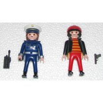 Playmobil Set # 4269 Policia Y Ladron Accesorios Incompletos