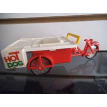 Triciclo Hot Dog Playmobil