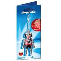 Playmobil Set 6616 Llavero Caballero Medieval Rojo Halcon Js