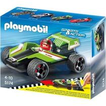 Playmobil 5174 Turbo Racer,ciudad,carro,friccion Retromex