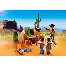 Playmobil 5250 Escondite D Bandidos,oeste,vaqueros Retromex