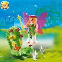 Playmobil 4927 Hada Con Trono Floral